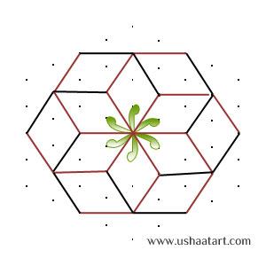 Flower-Kolam10