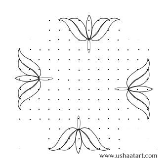 flower-Kolam7