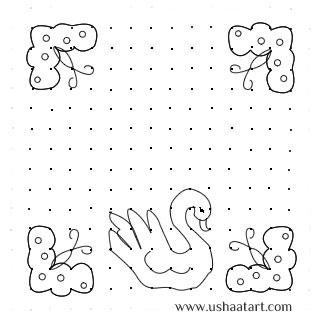 Birds Kolam 6