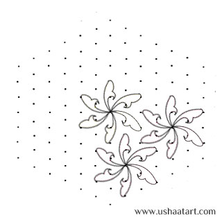 Flower Kolam