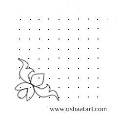 Flower Kolam 19