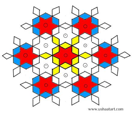 Star Kolam 6