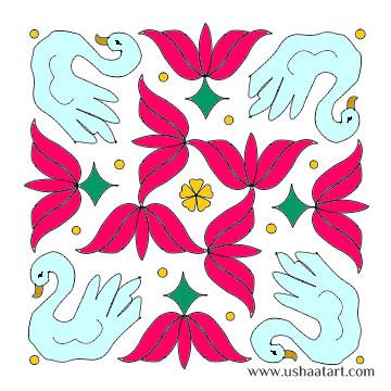 Flower Kolam 27