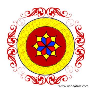 Rangoli Kolam 5