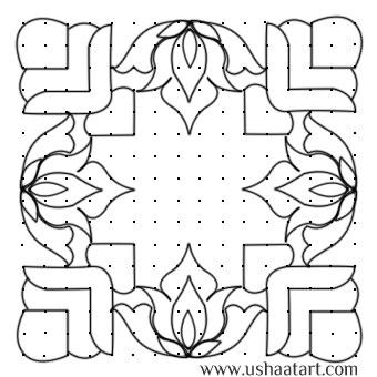 Flower Kolam 31