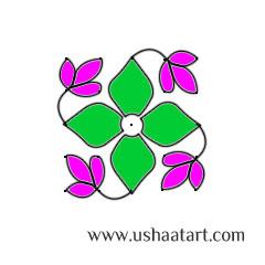 Flower Kolam 38