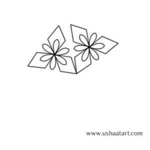 Flower Kolam 44