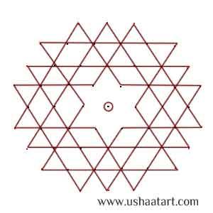 Star Kolam 8