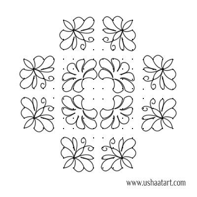 Butterfly-Kolam10d