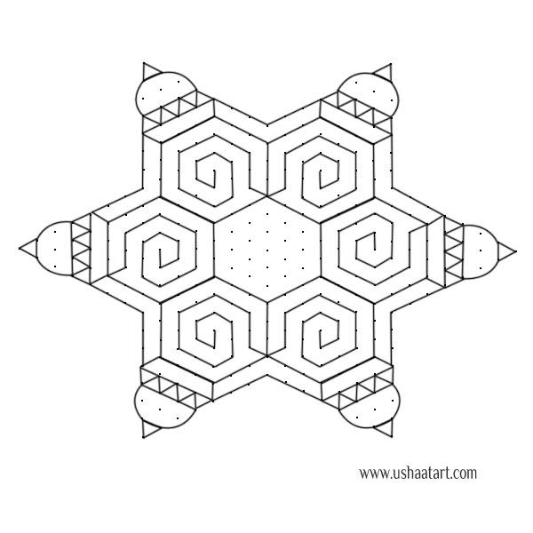 Star Kolam 10