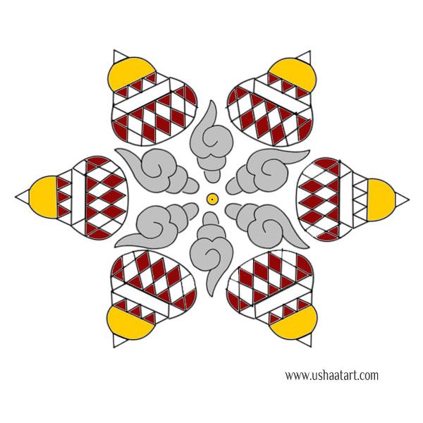 Star Kolam 11